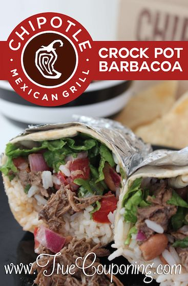 Delicious Chipotle Crock Pot Barbacoa is Perfect for a Busy Day