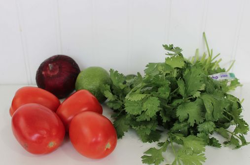 Chipotle Mild Tomato Salsa Ingredients 9-10