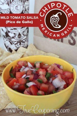 Chipotle Mild Tomato Salsa Recipe 9-10
