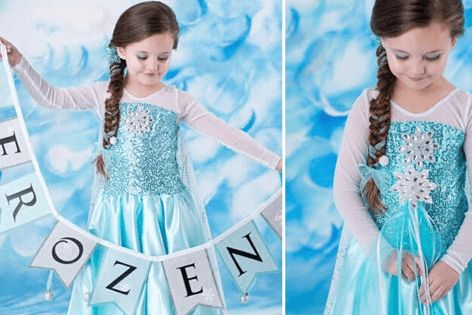 Disney Frozen Elsa Inspired Dress $24 Includes Shipping!