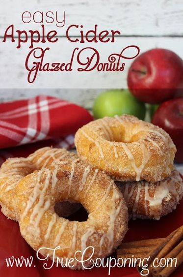 Easy Apple Cider Glazed Donuts Recipe 9-18