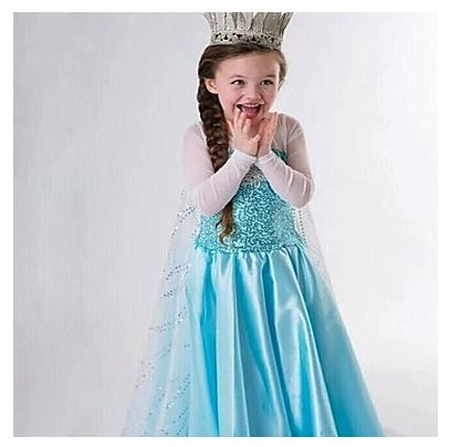 Elsa Princess Costume just $14.99 + FREE Shipping!  Ends 9/22