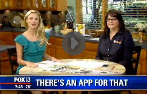 Fox 13 Savings Segment ~ Learn About Money Saving Apps!