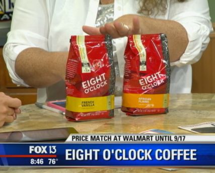 Hot Deal Shown Today on Fox! {Eight O'Clock Coffee Only $1.49 at Walmart!}