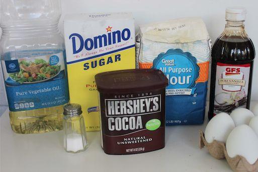 Ghostly Peep Brownies Ingredients 9-30