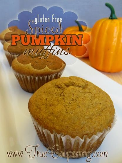 Gluten-Free Spiced Pumpkin Muffins 9-17