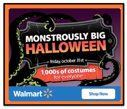 Monstrously BIG Savings for Halloween at Walmart!