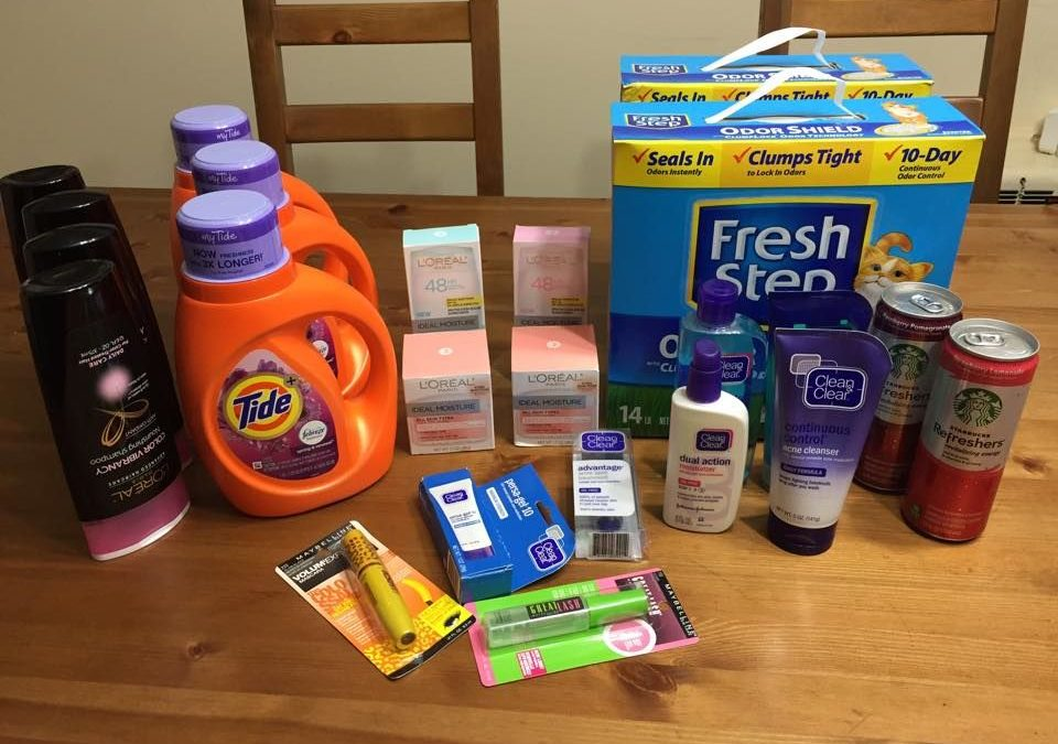 A True Couponing Testimonial from Meanie K.! She spent only $20.50 on all this at CVS…