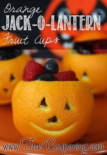 Orange Jack O Lantern Fruit Cups Main 9-30