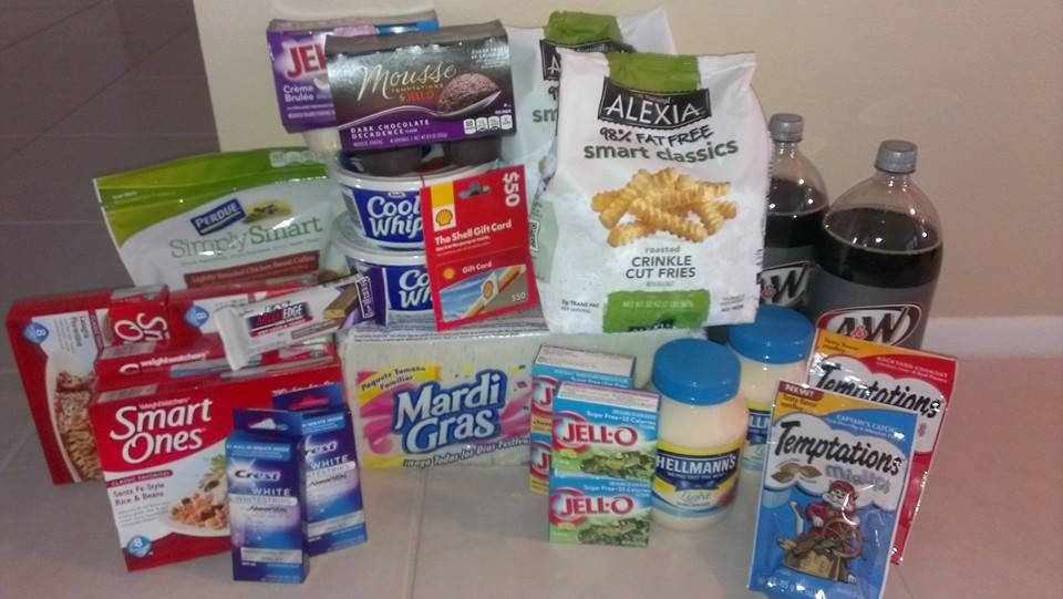 A True Couponing Testimonial from Vicki P.! She spent only $68 including a $50 Gas Card on all this…