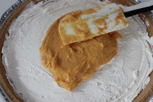 2 Layer No Bake Pumpkin Pie 3 10-29