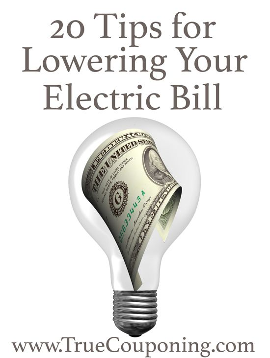 20 Tips for Lowering Your Electric Bill