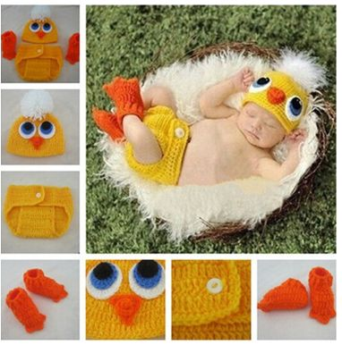 Baby Duck Halloween Costume 10-6