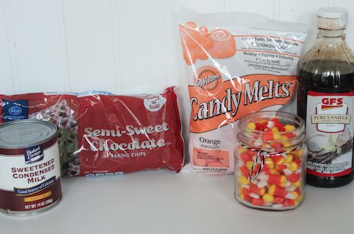 Candy Corn Fudge Ingredients 10-3