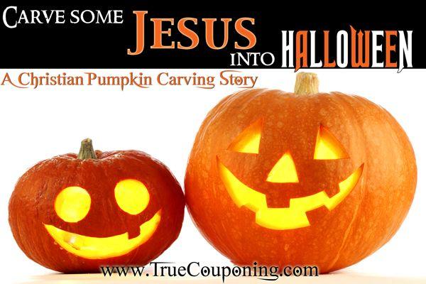 Christian Halloween Jack-O-Lantern Carving Story