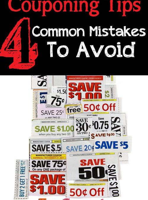 Couponing Tips: Common Couponing Mistakes to Avoid