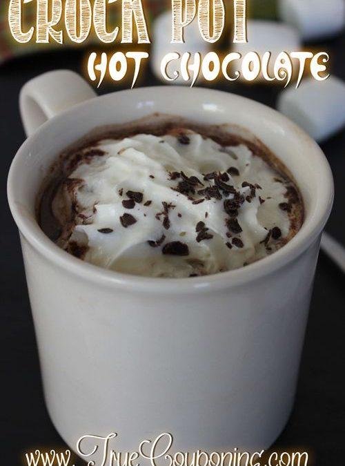 Crock Pot Hot Chocolate Recipe