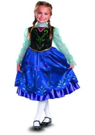 DIsney Frozen Anna Costume 10-10