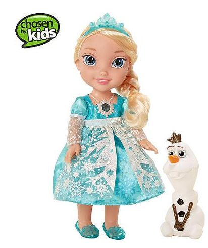 Disney Frozen Snow Glow Elsa Doll $28.88!
