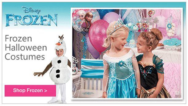 Disney Frozen Costumes 10-16