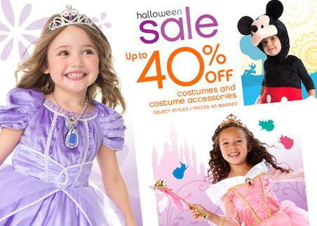 Disney Halloween Sale ~ Save Up to 40%!