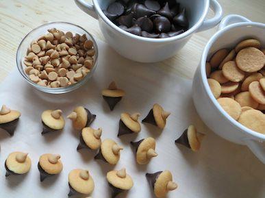 Easy Acorn Cookies 3 10-12