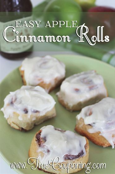 Easy Apple Cinnamon Rolls…Perfect for Holiday Company