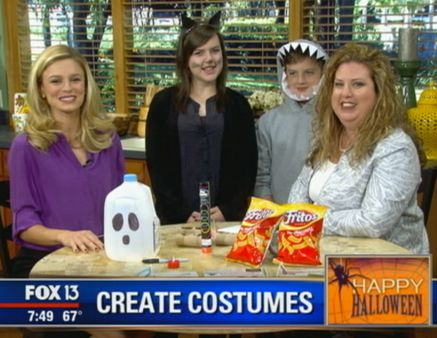 Fox 13 Savings Segment ~ Learn Some Simple Saving Tricks For Halloween!