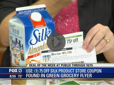 Hot Deal Shown Today on Fox! {Silk Almond Milk Only 75¢ at Publix!}