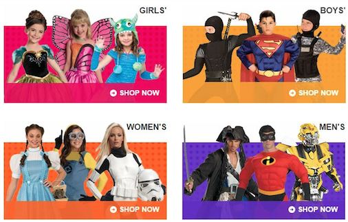 Save 20% on Halloween Costumes for the Whole Family!
