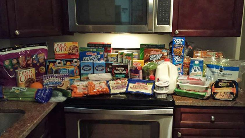 A True Couponing Testimonial from Kris B.! She got all of this for under $100!
