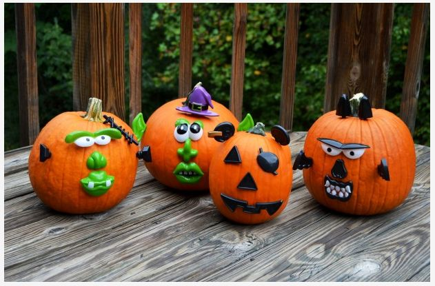 No Carve Pumpkin Decorating Kit $2.99!