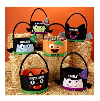Personalized Halloween Treat Bags 10-18