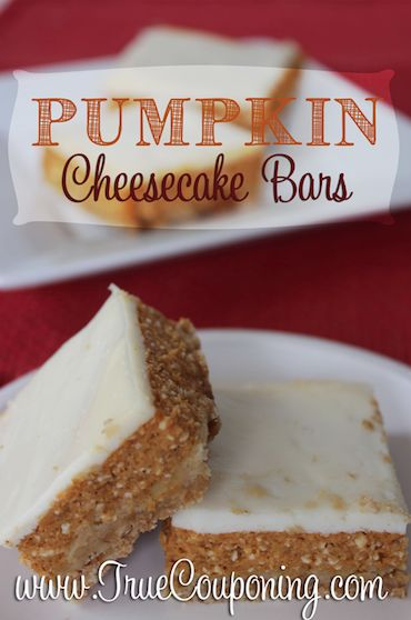 Pumpkin Cheesecake Bars Main 10-1