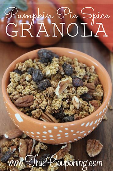 Pumpkin Pie Spice Granola Main 10-22