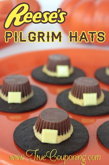 Reese's Pilgrim Hats Recipe