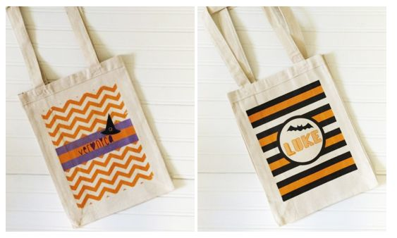 Personalized Halloween Tote Bags $12.99 + FREE Shipping!