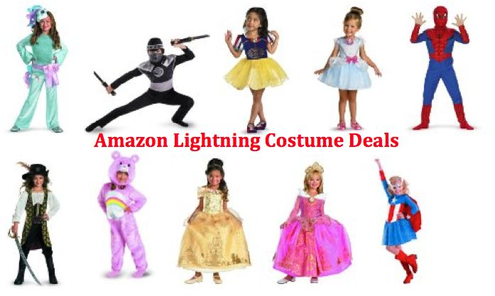 Amazon Lightning HALLOWEEN COSTUME Deals 10/15