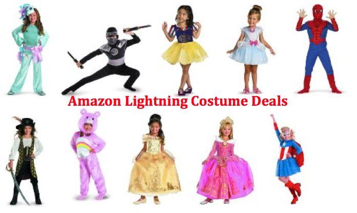 Amazon Lightning HALLOWEEN COSTUME Deals 10/15