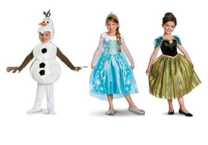 Save 15% on Disney Frozen Costumes at Birthday Express!