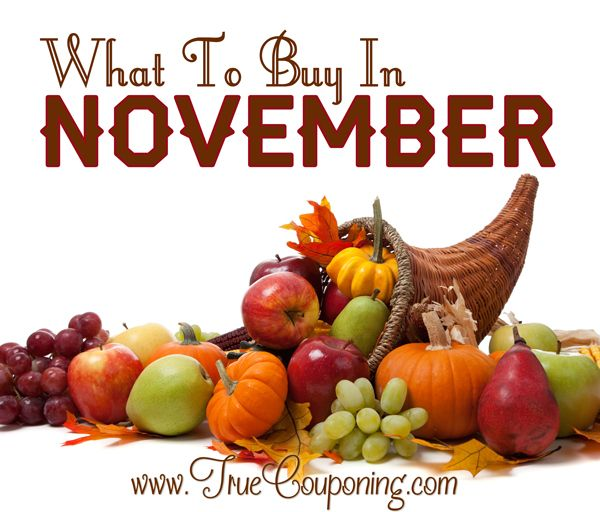 Do You Know What to Buy in November and What to Avoid? Let Me Tell You!