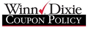 winn dixie coupon policy