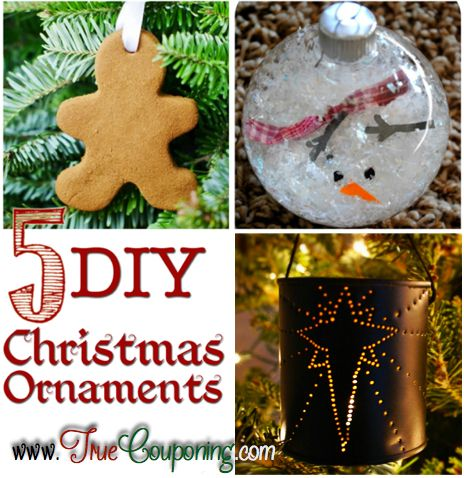 DIY Christmas Ornaments to Make with Your Family