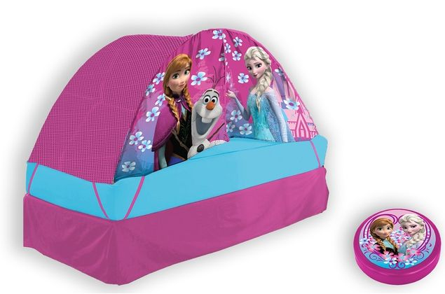 Disney Frozen Bed Tent 11-5  sc 1 st  True Couponing & Disney Frozen Bed Tent with Light Tent $22.99