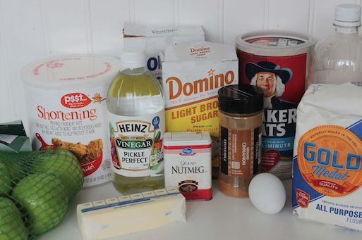 Dutch Apple Pie Ingredients 11-3