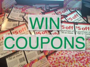 Coupon Giveaway ~ Announcing the 40 Winners! Respond Quickly!