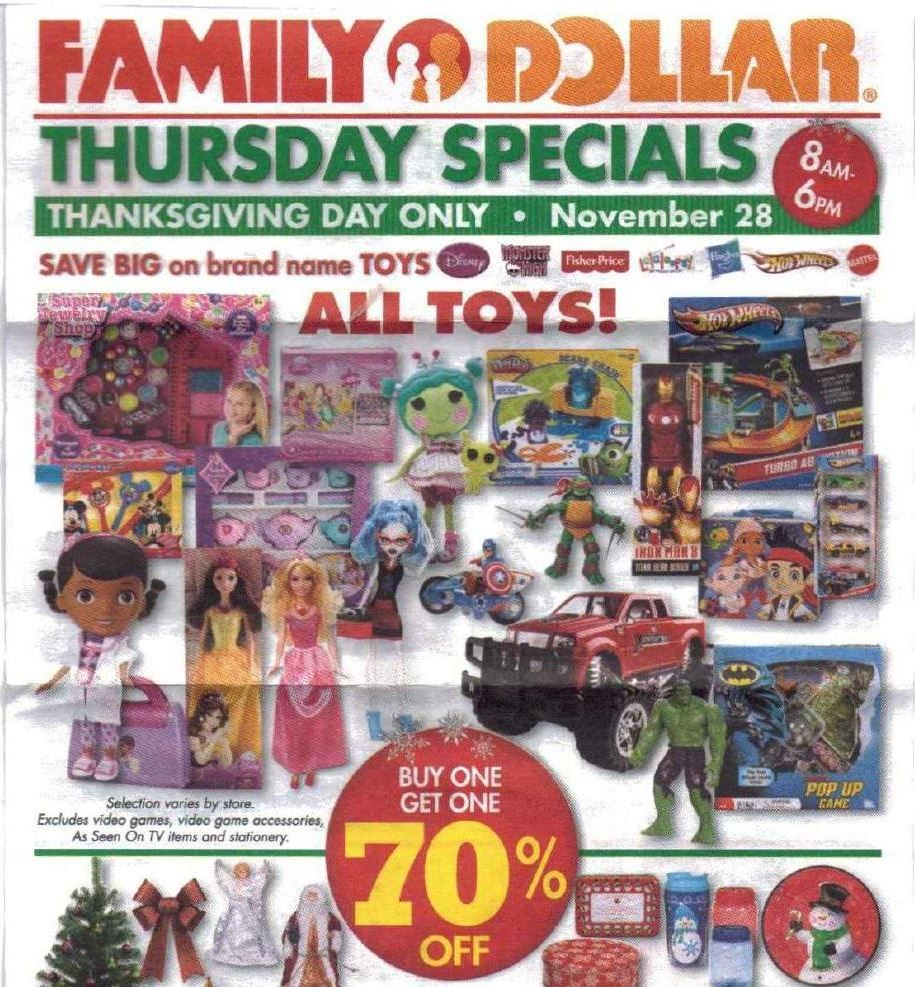 Family Dollar Toys : Black friday deals family dollar ad