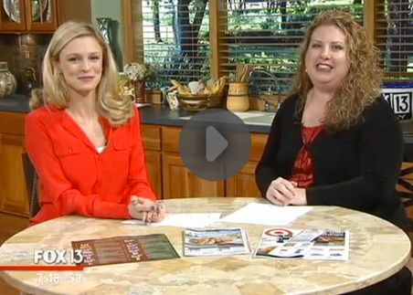 Fox 13 Savings Segment ~ Learn Ways to Save On Your Thanksgiving Meal!