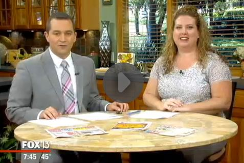 Fox 13 Savings Segment ~ Learn What to Buy in November!