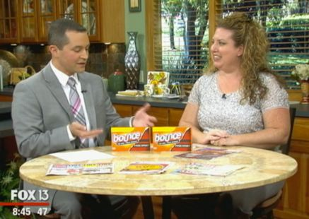 Hot Deal Shown Today on Fox! {Bounce Dryer Sheets Only 47¢ per Box!}